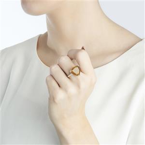 Shinyanga Sunstone Sterling Silver Ring ATGW 7.91cts