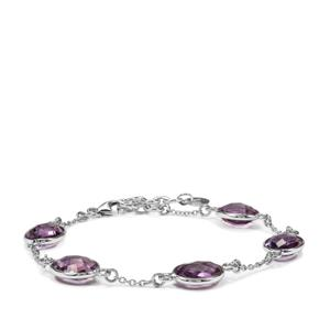Bahia Amethyst Bracelet in Sterling Silver 15cts