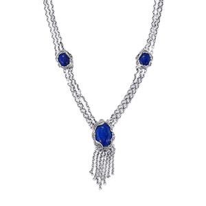 24.75ct Lapis Lazuli Sterling Silver Necklace