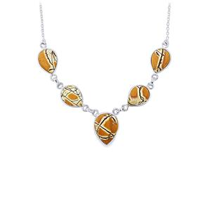 33.48ct Sonora Dendrite Sterling Silver Aryonna Necklace