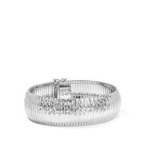 Sterling Silver Altro Diamond Cut Cleo Bracelet 29.50g