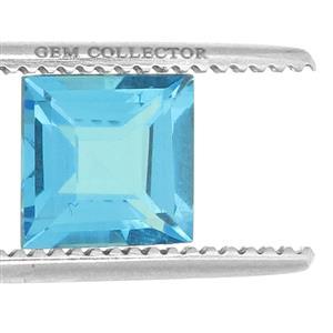 Swiss Blue Topaz GC loose stone