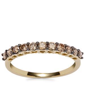 Argyle Diamond Ring in 18K Gold 0.51ct