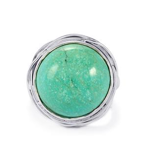 11ct Tibetan Turquoise Sterling Silver Aryonna Ring