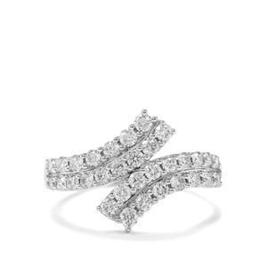 1ct Diamond 18K White Gold Tomas Rae Ring