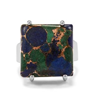 20ct Mojave Azurite Sterling Silver Aryonna Ring