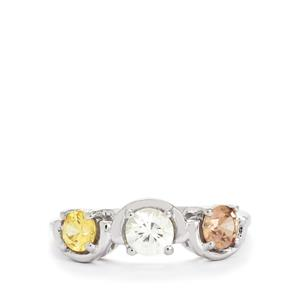 1.50ct Harlequin 9K White Gold Ring