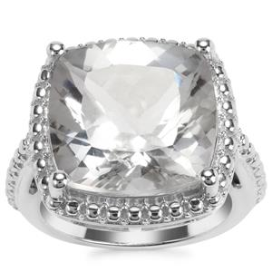 White Topaz Hollywood Ring in Sterling Silver 15cts