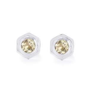 1.54ct Serenite Sterling Silver Cufflinks