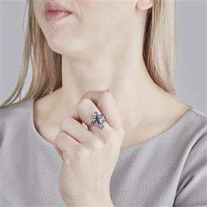 Bengal Iolite Ring in Sterling Silver 2.39cts