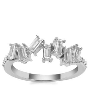 Ratanakiri Zircon Ring in Sterling Silver 1.39cts