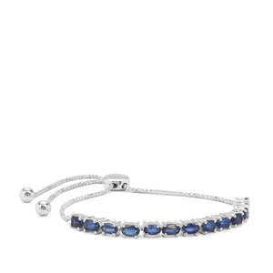 Nilamani Slider Bracelet in Sterling Silver 4.48cts