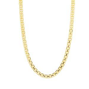 """30"""" Midas Dettaglio Diamond Cut Bismark Chain 4.06g"""