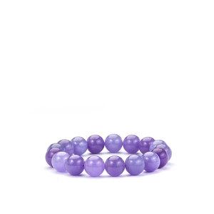 Burmese Purple Jade Bracelet 228cts