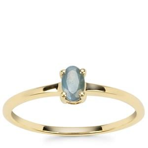 Alexandrite Ring in 9K Gold 0.26ct