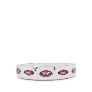 1.15ct Rajasthan Garnet Sterling Silver Ring