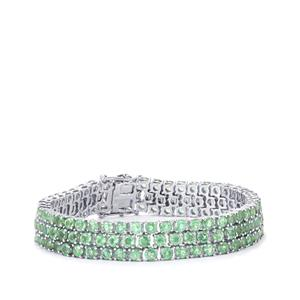 31.47ct Odisha Kyanite Sterling Silver Bracelet