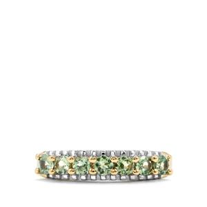 Alexandrite Ring in 10K Gold 0.70ct