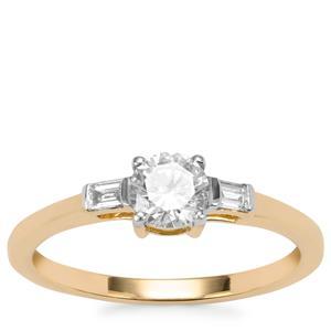 Diamond Ring in 18K Gold 0.60ct
