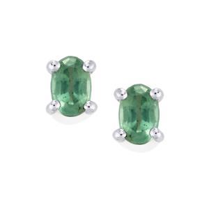 1.19ct Odisha Kyanite Sterling Silver Earrings