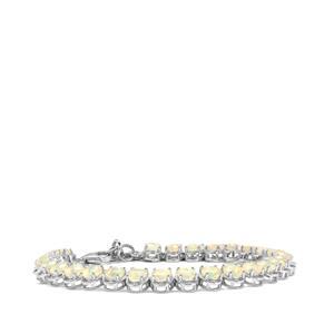 Ethiopian Opal Bracelet in Sterling Silver 8.47cts