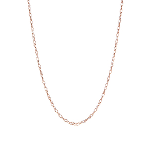 """18"""" 9K Gold Classico Prince Of Wales Chain 0.34g"""