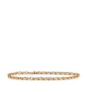 Midas Milano Charms Bracelet 5.24g