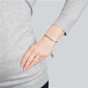 Marambaia London Blue Topaz Slider Bracelet  in Sterling Silver 4.66cts