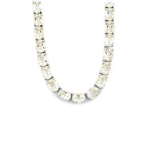 55ct Itinga Petalite Sterling Silver Necklace