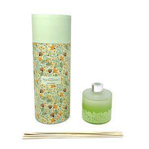 Gem Auras Springtime Reed Diffuser - Aventurine, Agate & Clear Quartz 30cts