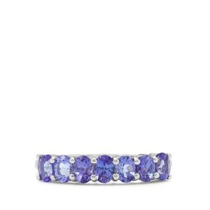 AA Tanzanite Ring in 9K White Gold 1.20cts