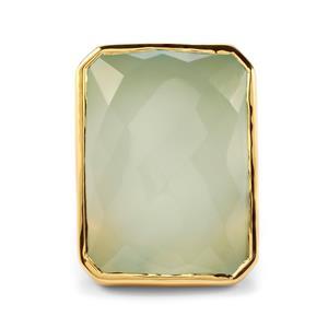41ct Aqua Chalcedony Midas Sarah Bennett Cocktail Classics Ring