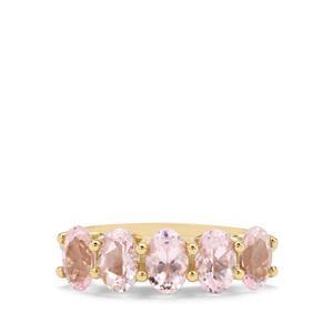 2.02ct Cherry Blossom™ Morganite 9K Gold Ring