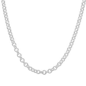 "18"" Sterling Silver Altro Belcher Chain 4.96g"