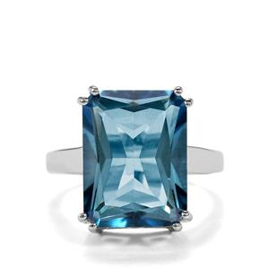 Santa Maria Topaz Ring in Sterling Silver 14.45cts