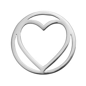 Sterling Silver Love Disc 2.69g