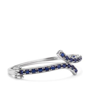 Daha Kyanite Oval Bangle in Sterling Silver 6.86cts