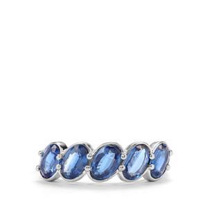2.79ct Daha Kyanite Sterling Silver Ring