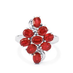 5ct Madagascan Ruby Sterling Silver Ring (F)