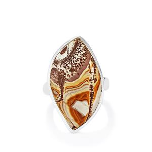 12.95ct Sonora Dendrite Sterling Silver Aryonna Ring