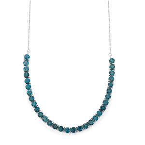 Marambaia London Blue Topaz Necklace in Sterling Silver 31.85cts