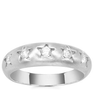 Ratanakiri Zircon Ring in Sterling Silver 0.47cts