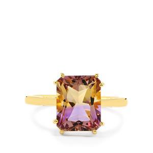 Anahi Ametrine Ring  in Gold Vermeil 4.51cts