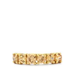 Ceylon Zircon Ring in 9K Gold 1.50cts