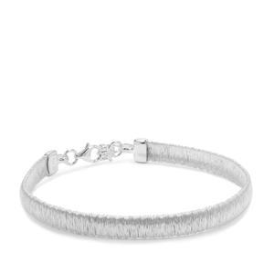 "7"" Sterling Silver Altro Mesh Bracelet 7.95g"