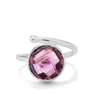 6ct Bahia Amethyst Sterling Silver Aryonna Ring