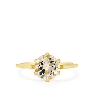 Mutala Morganite Ring in 10k Gold 1.71cts