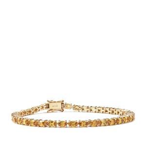 Morafeno Sphene Bracelet in 9k Gold 9.37cts