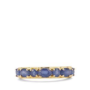 1.62ct Burmese Blue Sapphire 9K Gold Ring