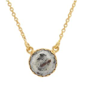 Astrophyllite Necklace in Gold Plated Sterling Silver 4cts